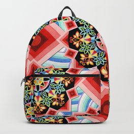 Chinoiserie Waves Backpack
