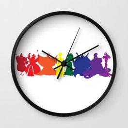 Wicked Women Wall Clock