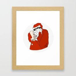 Bellarke christmas Framed Art Print