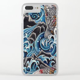 Koi by Sebastian Orth Clear iPhone Case