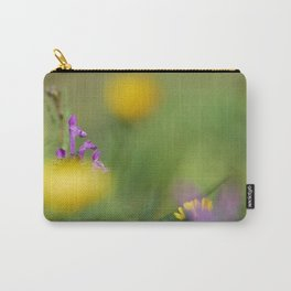Purple, yellow and green bokeh Carry-All Pouch