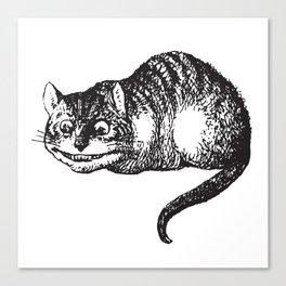 Cheshire Cat - Alice in wonderland Canvas Print