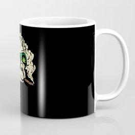 Alpaca Weed Smoker Cannabis Motif Coffee Mug