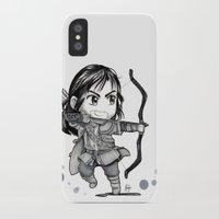 kili iPhone & iPod Cases featuring Kili Chibi by KuroCyou