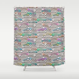 Some Bony Fish Shower Curtain