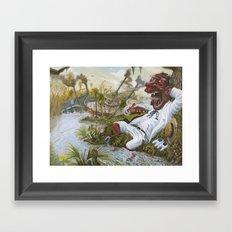 The Devil's Knee Framed Art Print