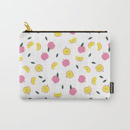 Pink Apples Pattern Carry-All Pouch