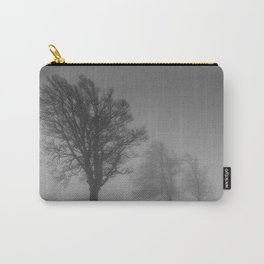 Morning Mist Trees - Landscape Photography Carry-All Pouch