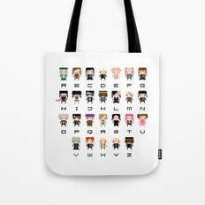 Harry Potter Alphabet Tote Bag