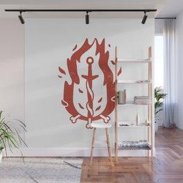 Bonfire (Demon's Souls & Dark Souls) Wall Mural