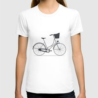 bicycle T-shirts featuring Bicycle by arzu sendag