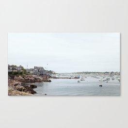 Massachusetts Fishing Village Canvas Print