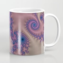 Pillows of Passion - Fractal Art Coffee Mug