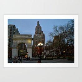 Washington Square Art Print