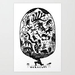 The Labors of Hercules Art Print