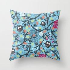 Owls. Throw Pillow