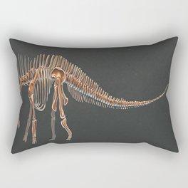 Amargasaurus Skeletal Study (No Labels) Rectangular Pillow
