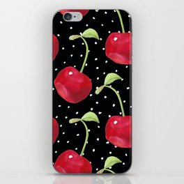 Cherry pattern III iPhone Skin