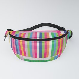 Color Glitch Fanny Pack