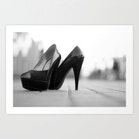 heels Art Prints featuring Heels by sarahscamera