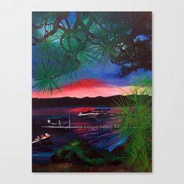 Gaylord Sunset Canvas Print