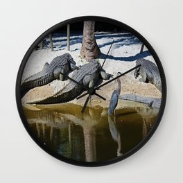 The Reckless Brother Wall Clock