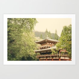 Valley of the Temples Art Print