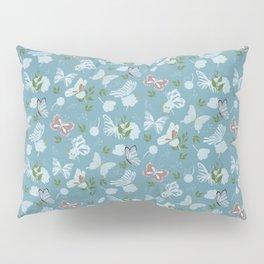 Butterfly Flowers 1 Pillow Sham