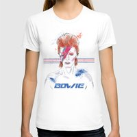 bowie T-shirts featuring Bowie by Usagi Por Moi