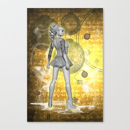 Whispers in Time .. fantasy art Canvas Print