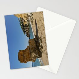 Olhos d'Agua rock. the Algarve Stationery Cards