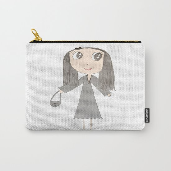 Greyzoolina   Kids Painting by Elisavet Carry-All Pouch