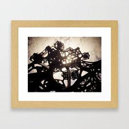 Sound Sculpture 01 Framed Art Print