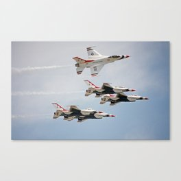 Air Force Thunderbirds Canvas Print