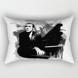 Glenn Gould Rectangular Pillow