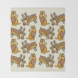 Moose & Bear Throw Blanket