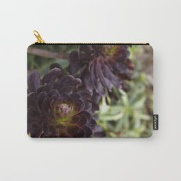 Aeonium Detail Carry-All Pouch
