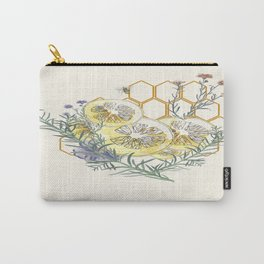 Lemons and wildflowers Carry-All Pouch