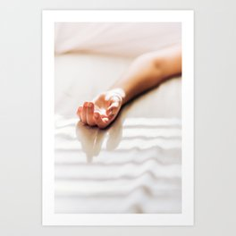 Hand in Sunlight Art Print