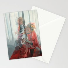 Holy Family (Red Riding Hood) Stationery Cards