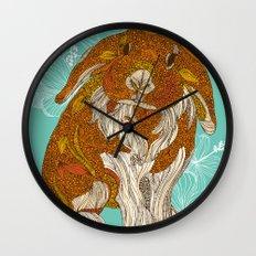 Hello little bunny Wall Clock