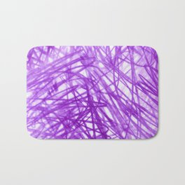 Ophelia Purple Bath Mat