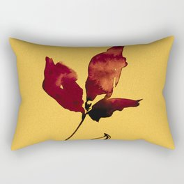 Floral Abstract No.2s by Kathy Morton Stanion Rectangular Pillow