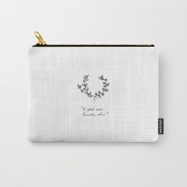 A Glad And Humble Cheer Carry-All Pouch