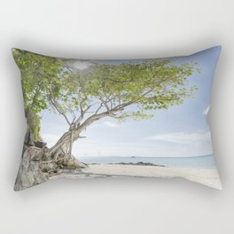 Island Tree Rectangular Pillow