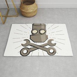 Jolly Robot 01 Rug
