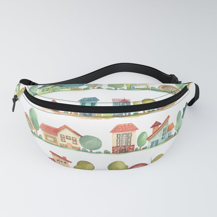 City Houses Fanny Pack