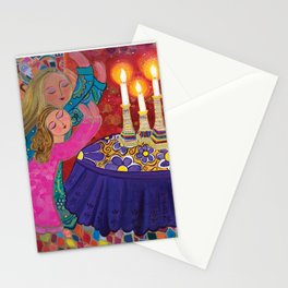 Sisters Storm the Heavens Stationery Cards