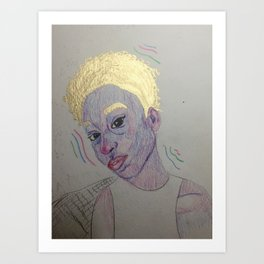 Kris Art Print