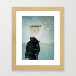 Ishmael : Hello My Old Friend Framed Art Print